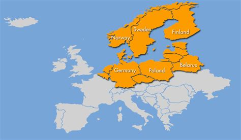 map northern europe russia holidays afloat russia arctic germany