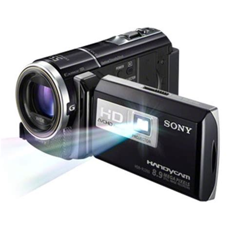 Handycam Sony Plus Proyektor Camcorder Review Sony Handycam Pj260 With Built In Projector