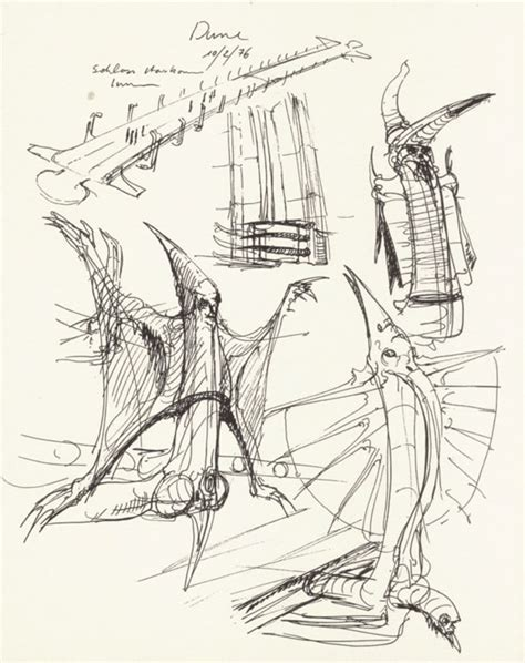 H R Giger Sketches by Pin Hr Giger Skull On