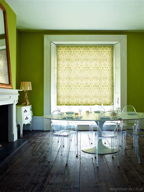 Mustard Patterned Roller Blinds | 96 best images about roller blinds on pinterest shabby