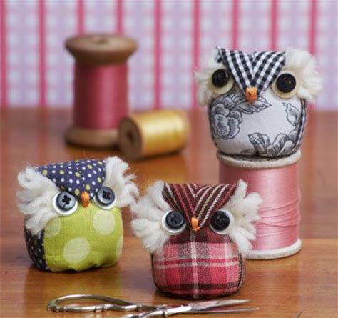 owl pincushion pincushions online patterns tutorials