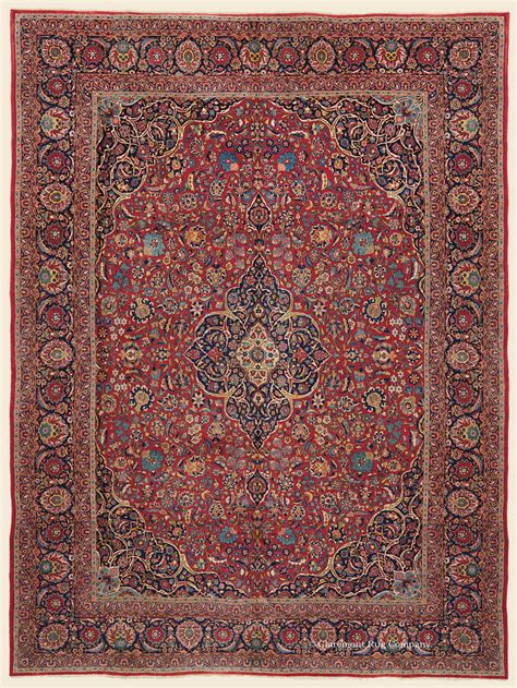 Central Rugs by Kashan Central Antique Rug Claremont Rug Company