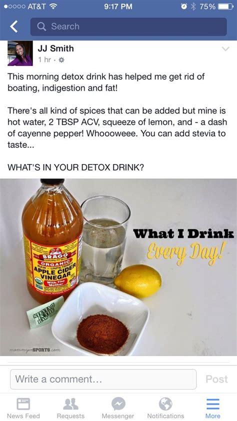 Jj Smith Detox Tea by Apple Cider Vinegar Recipe For Detox