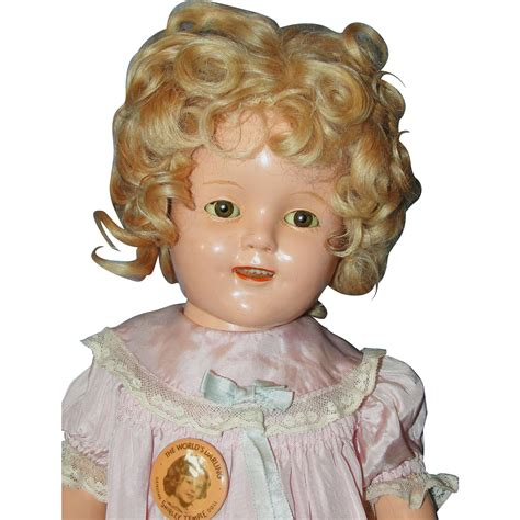 composition ideal doll 17 quot ideal shirley temple composition doll from