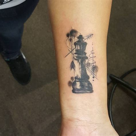 king and queen chess piece tattoos 29 likes 5 comments viet vietillusions on instagram