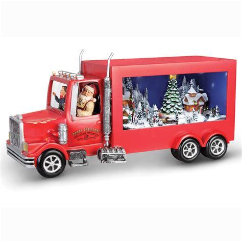 santa truck the santa s delivery truck hammacher schlemmer