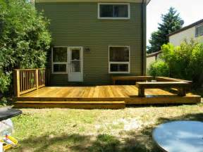 Backyard Deck Ideas Custom Decks Brton Bolton Caledon Milton Woodbridge