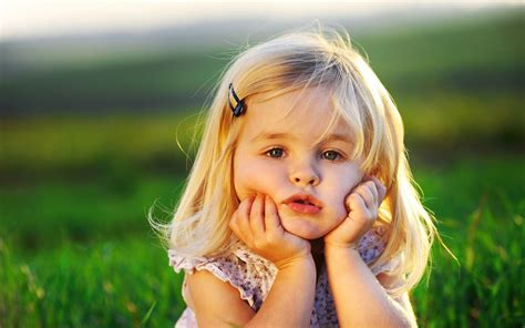 cute little angel children photography wallpaper 8