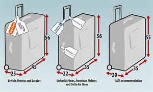 lufthansa emirates and qatar airways set new bag size