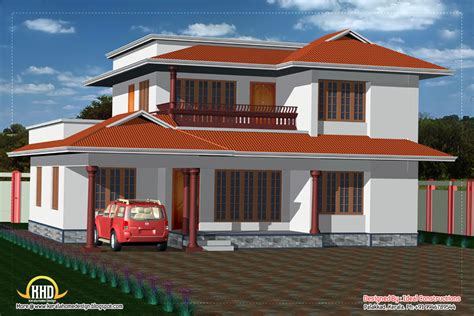 2 storey house designs kerala 2 story house elevation 2050 sq ft kerala home design and floor plans