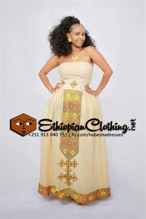 Ethiopian Traditional Dress For Wedding - Berksce - Wedding Designs