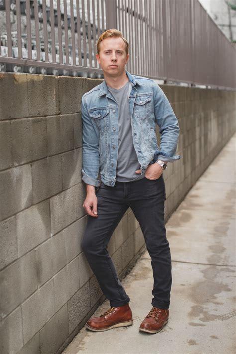 light grey denim jacket gray jeans 6 easy stylish exles
