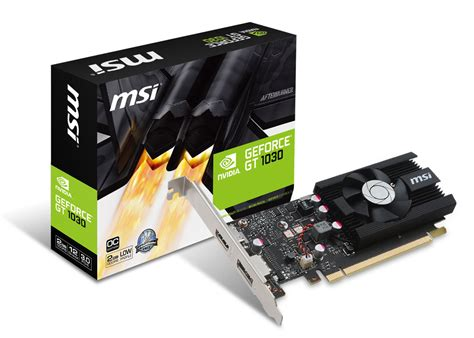 Msi Geforce Gt 1030 2gb Ddr5 2g Lp Oc msi geforce gt 1030 lp 2gb oc free shipping south africa