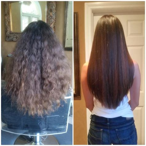 haircut before or after brazilian blowout before and after brazilian blowout color and haircut yelp