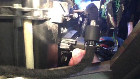 blower motor resistor fix   ford   youtube