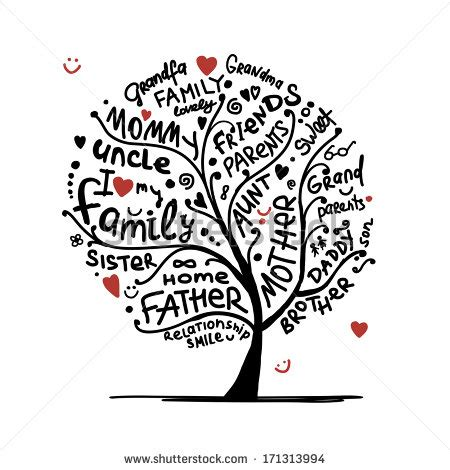 Family Tree Stock Images Royalty Free Images Vectors Shutterstock At Family Tree For Your Design