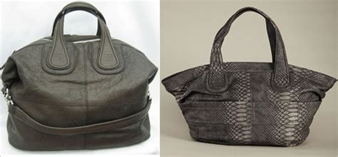 Other Designers With Givenchy Nightingale Designer Handbag by Who Did It Better Givenchy Nightingale Vs Bcbgeneration