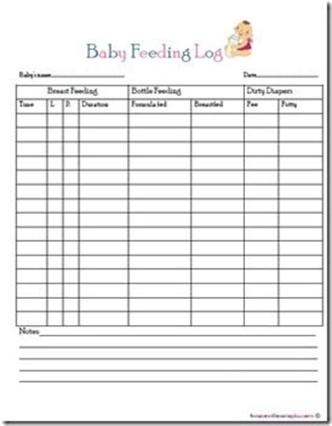 baby log book template baby feeding log free printable filofax planner