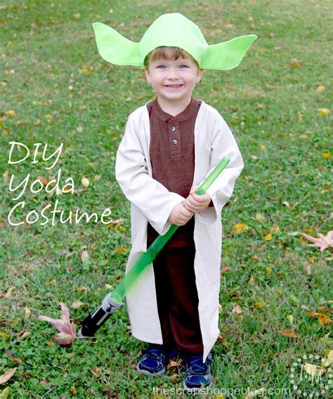 yoda costume diy darth maul yoda costumes the scrap shoppe