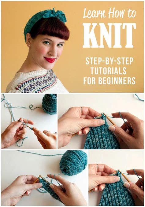 how to knit step by step for beginners 25 best ideas about knitting for beginners on