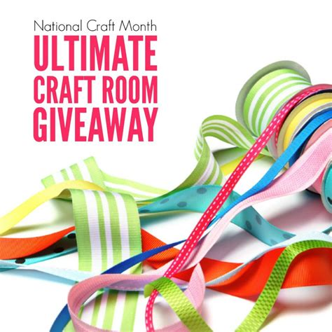 Craft Giveaways - national craft month giveaway sugar bee crafts