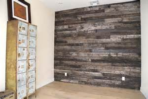 reclaimed speckled black wood wall covering porter barn wood