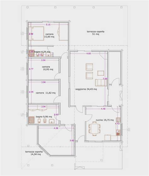 Progetto Casa 75 Mq by Progetti Di In Legno Casa 178 Mq Porticati 75 Mq
