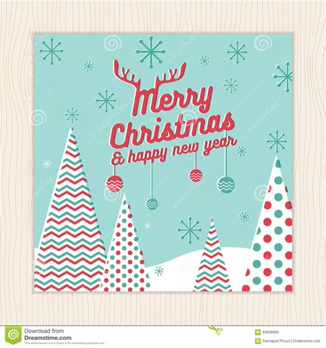 merry photo card template merry happy new year card or poster template