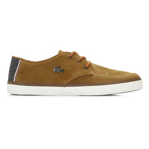 lacoste flat shoes lacoste mens flat shoes sevrin suede lace up casual