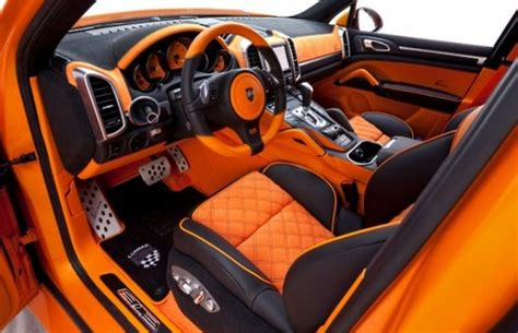 Shoo Car Interior by Porsche Cayenne S Hybrid The 50 Most Outrageous Custom