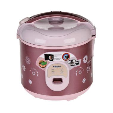 Miyako Rice Cooker Mcm 507 1 8 L magic jar 5 liter review produk rating terbaik blibli
