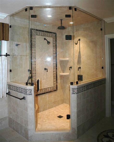 All Glass Shower Door Shower Glass Harbor All Glass Mirror Inc