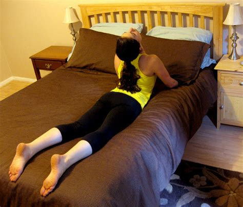 stretches to do before bed hit the hay cobra popsugar fitness