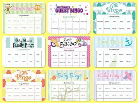 How To Play Baby Shower Bingo by Optimus Welding Baby Shower Bingo Printable Top