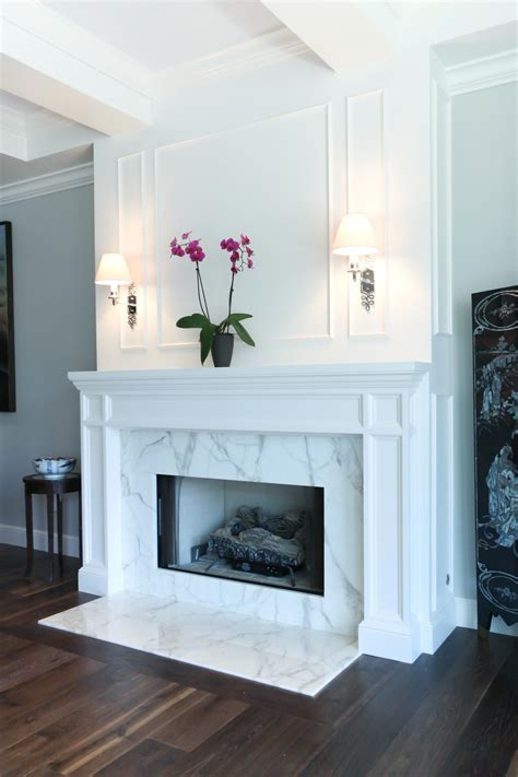 Hardwood Floor Trim Around Fireplace   Gallery of Wood and