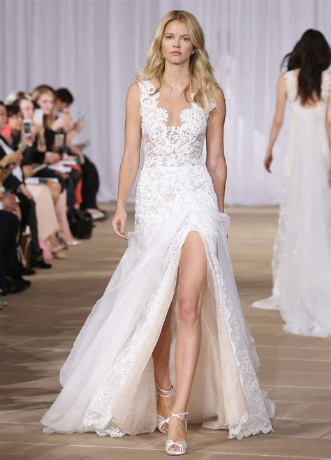 Wedding Dress With Slit by Fabulous Wedding Dresses With Slits Up The Legs Weddings