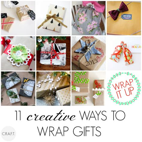 creative ways to wrap christmas gifts 11 creative ways to wrap gifts c r a f t