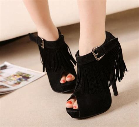 Womens Pointed Stiletto Suede Korean Pumps With Rhinestone Black 146 best images about s shoes on sandals