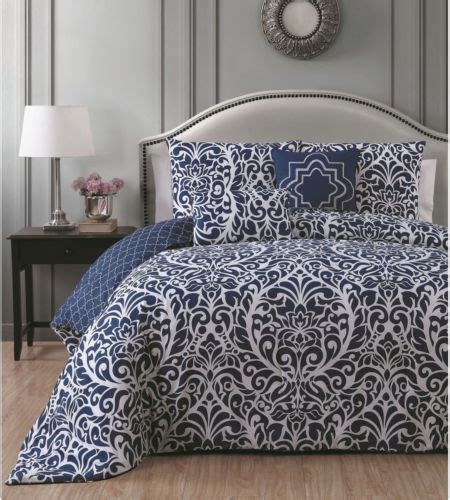 navy blue king size comforter navy and white king size comforter set 5 piece blue