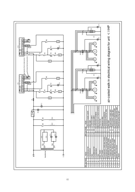 freezer room wiring diagram wiring diagram and schematic