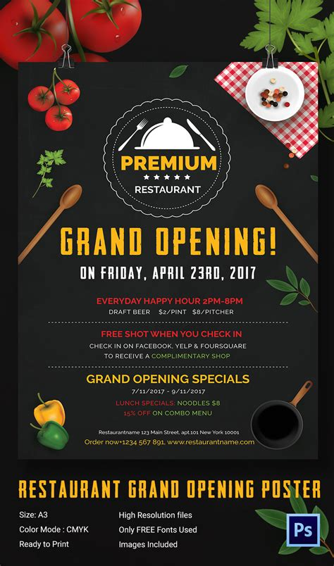 now open flyer template grand opening flyer template 34 free psd ai vector