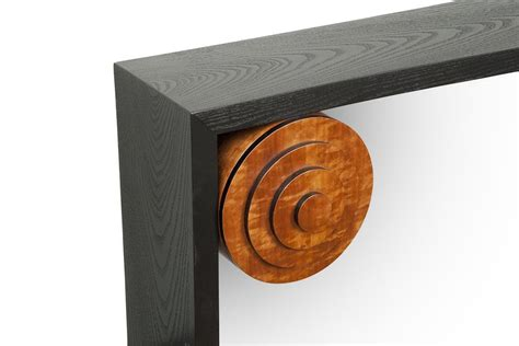 zig zag console table weitzman furniture console tables entryways zig