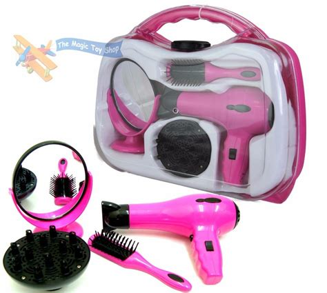 Battery Operated Hair Dryer Ebay battery operated hair dryer play set in carry