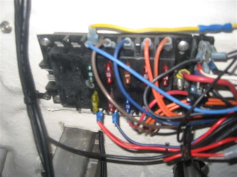 how to rewire boat switch panel electrical rewire fuse panel sea hunt boats owners group