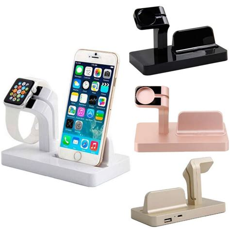 charging dock stand bracket mount holder for apple iwatch iphone 7 6s 6 ebay