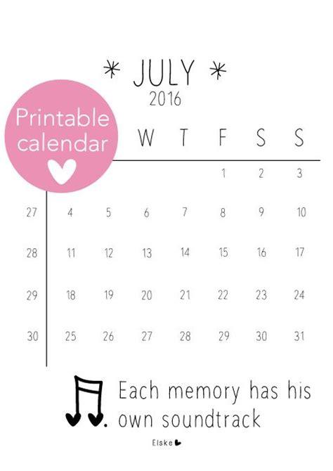 Juli Kalender 2017 25 Beste Idee 235 N Juli Kalender Op