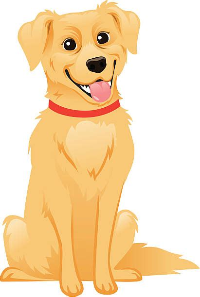 golden retriever clipart golden retriever clip vector images illustrations