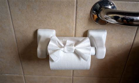 Origami Toilet Paper - hotel rooms finger lakes and skaneateles new york