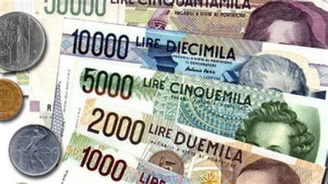 d italia cambio lire in vedova trova 43 milioni di lire bankitalia quot 200 carta