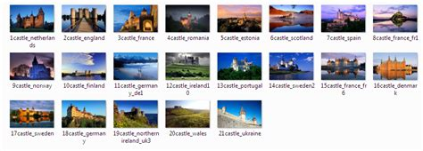 download free windows 7 castles of europe theme download castles of europe windows 7 theme